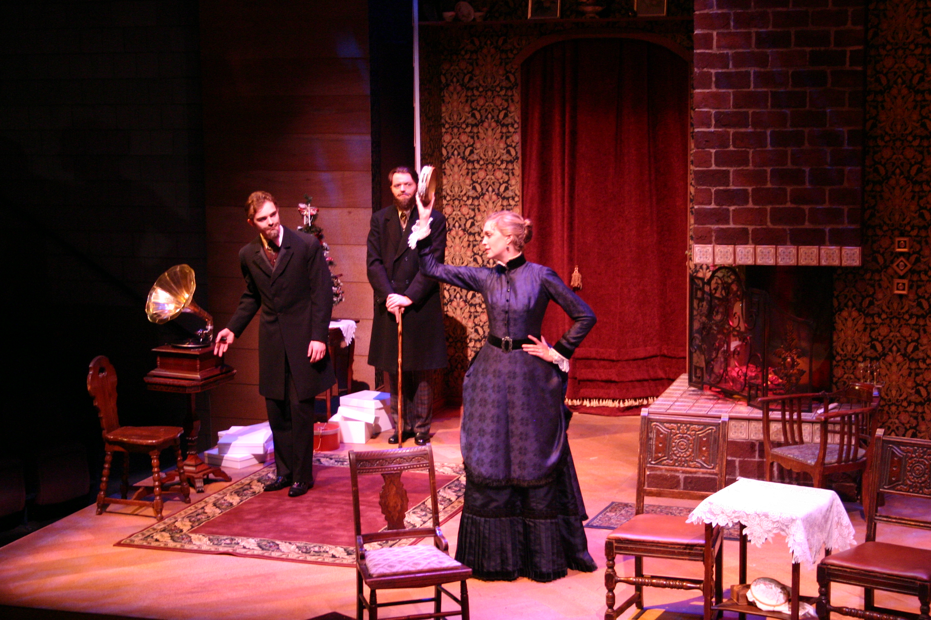 theatre evaluation a dolls house ''a doll house'' portrays how hard it was for women in the late 1800's to find independence from their duties as wives and mothers  theatre of the 1700s  a doll house by ibsen: summary .