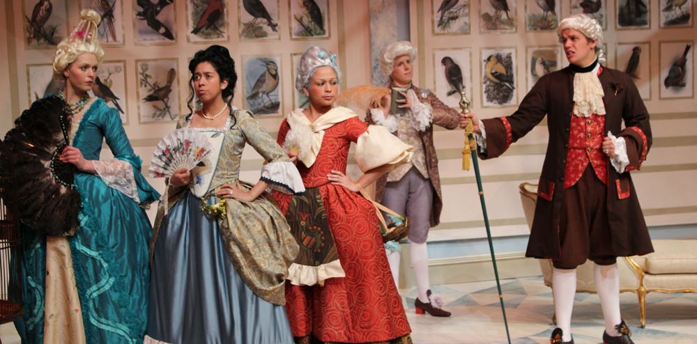 Lehigh University Theatre - The Belle's Stratagem