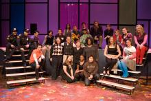 Lehigh University Theatre - Twelfth Night, cast together on stage