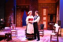 Lehigh University Theatre - A Doll's House, woman and man together