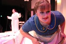 Lehigh University Theatre - The Clean House, woman close up