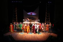 Lehigh University Theatre - Rosencrantz and Guildenstern are Dead, cast