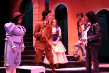 Lehigh University Theatre - The Country Wife, man with cane