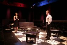 Lehigh University Theatre - House of Yes, woman and man during play